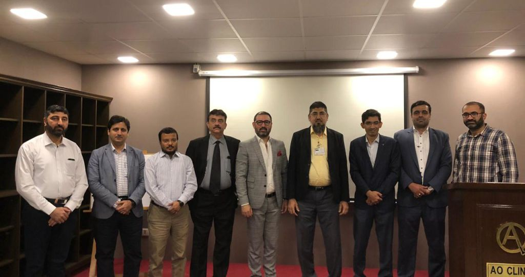Dr. Umer Butt and Senior Sports Surgeons from karachi participated and discuss about the updates and advances In sports injury.