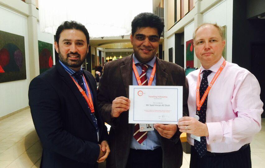 International Travelling Fellowship At Circle Bath Hospital 2015