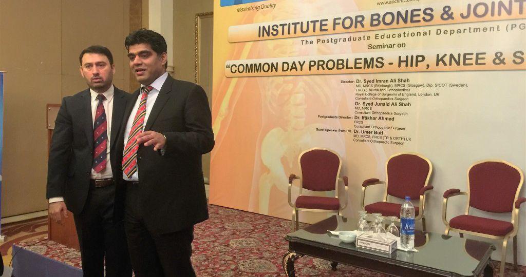 Shoulder & Knee Symposium at Movenpick Karachi in 2014